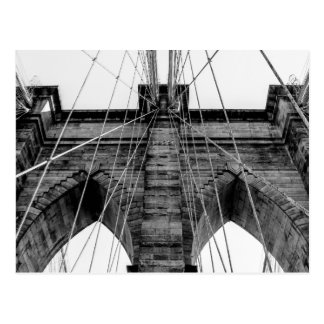 Photo of the Brooklyn Bridge in NYC Postcard