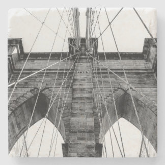 Photo of the Brooklyn Bridge in NYC Stone Coaster