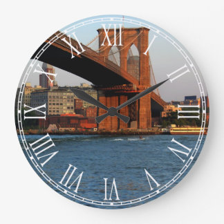 Photo of the Brooklyn Bridge in NYC Wallclock