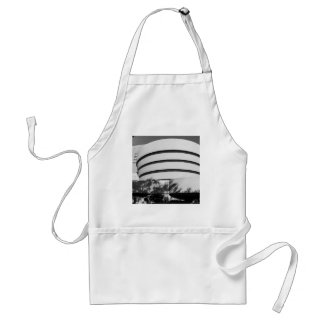 Photo of the Guggenheim Museum in New York City Adult Apron