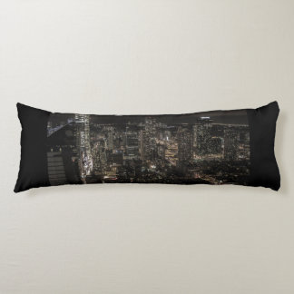 Photo of the New York City Night Skyline Body Pillow