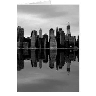 Photo of the New York City Skyline Landscape Card