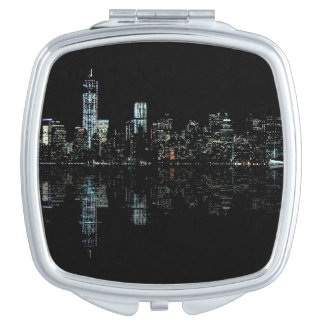 Photo of the New York City Skyline Landscape Compact Mirror