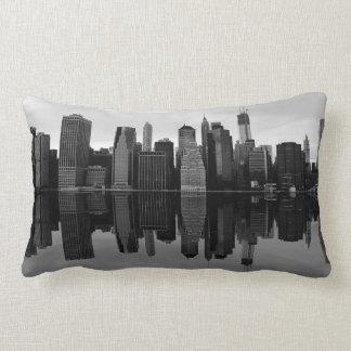 Photo of the New York City Skyline Landscape Pillows