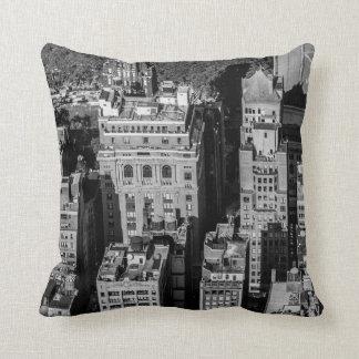 Photo of the New York City Skyline Landscape Throw Pillows