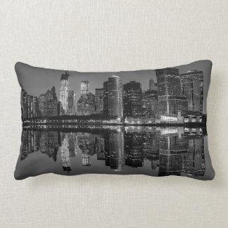 Photo of the New York City Skyline Landscape Throw Pillow