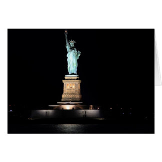 Photo of the Statue of Liberty in NYC Card