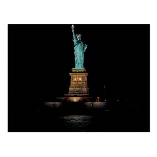 Photo of the Statue of Liberty in NYC Postcard