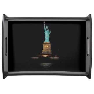 Photo of the Statue of Liberty in NYC Serving Tray