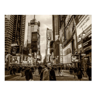 Photo of Times Square in New York City Postcard