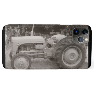 photo of Vintage Gray massey fergison tractor  iPhone 11 Pro Max Case