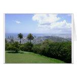Photo of Waikiki, Oahu, Hawaii, USA Greeting Cards