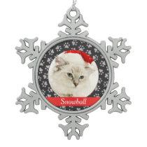 Photo Ornament   Personalized Cat Pet