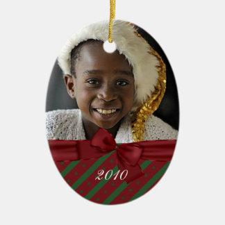 photo oval ornament