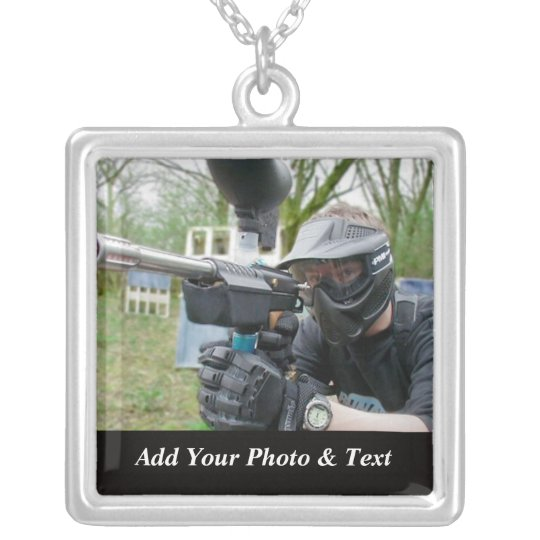 Photo Paintball Sports Necklaces
