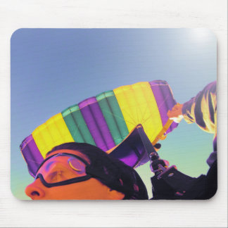 photo perfect skydiver mouse pad