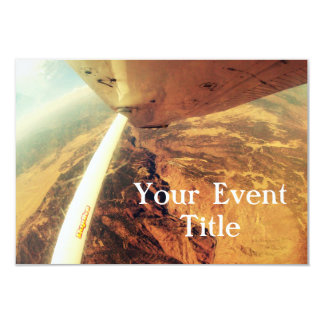 photo perfect small plane skydive card