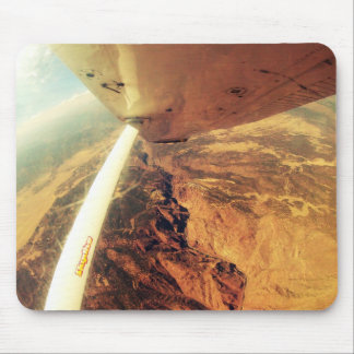 photo perfect small plane skydive mouse pad