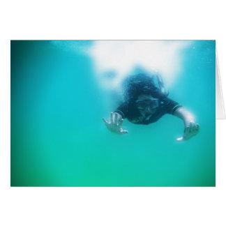 photo perfect snorkeler card