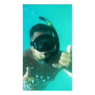 photo perfect snorkeling business card