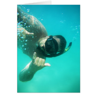 photo perfect snorkeling card