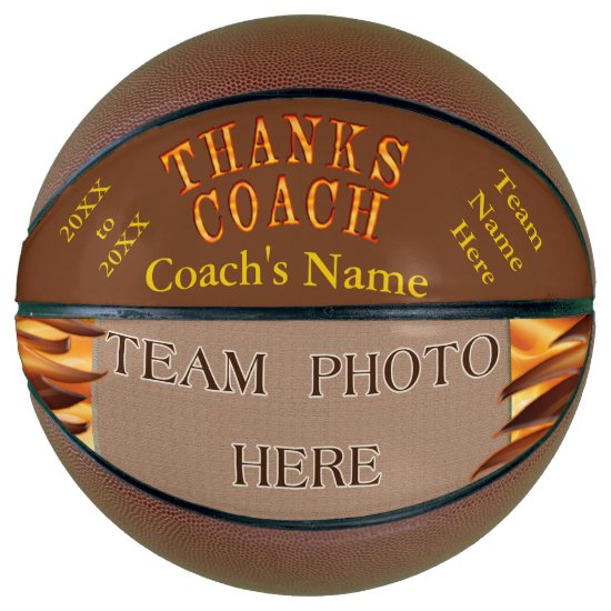 PHOTO Personalized Best Gifts for Basketball Coach