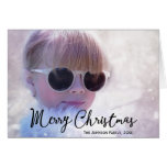 Photo Personalized Christmas Greeting Cards