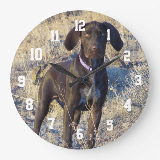 Photo Personalized Large Round Wall Clock