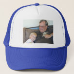 """Photo Personalized Photo Baseball Cap<br><div class=""""desc"""">Upload your favorite photo or artwork to this sturdy trucker"""
