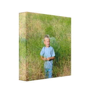 Photo Personalized Stretched Canvas Print