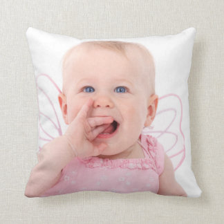 Photo Personalized Throw Pillow