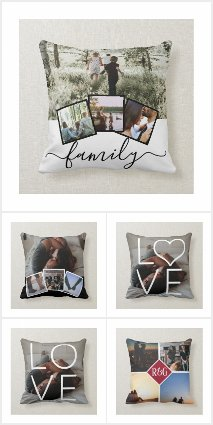 Photo Pillows / Cushions