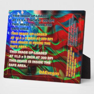 Photo Plaque 8 X 10 Cust Edit Change back color