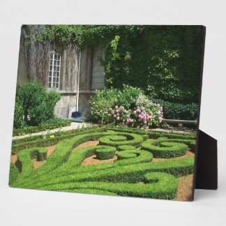 Photo Plaque-French Garden Plaque