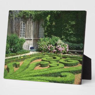 Photo Plaque-French Garden Plaque