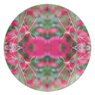 Photo Play Floral Fusion Dinner Plate