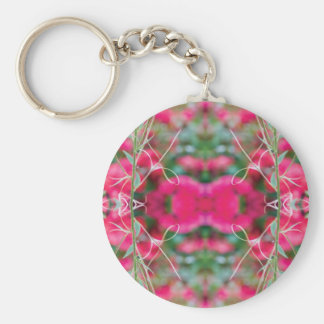 Photo Play Floral Fusion Keychain