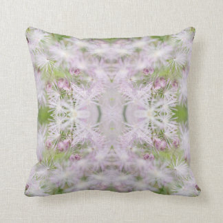 Photo Play Pink Candy Bursts Throw Pillow