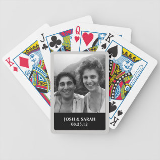 Photo Playing Cards at Zazzle