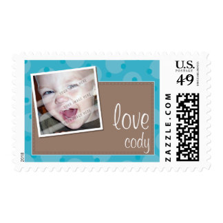 PHOTO POSTAGE STAMP :: cheeky spotted 8