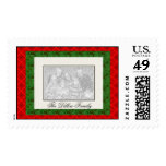 PHOTO Postage Stamp Template
