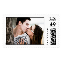 Photo Postage Stamp Wedding