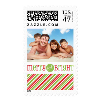 PHOTO POSTAGE STAMPS  :: merry & bright 3