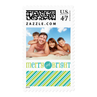 PHOTO POSTAGE STAMPS  :: merry & bright 4