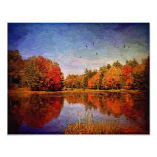 Photo Print-Autumnal Love Affair