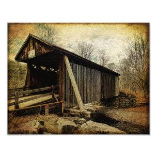 Photo Print-Bendo Covered Bridge