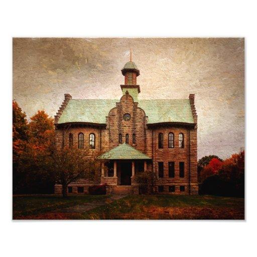 Photo Print-Haines Falls High School
