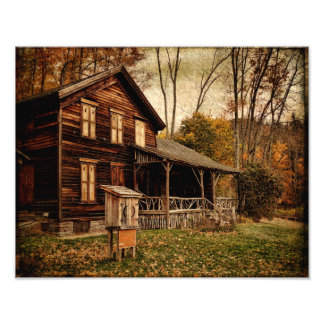 Photo Print-Last Years at the Woodchuck Lodge