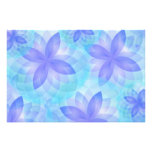 Photo print mandala abstract lotus flowers