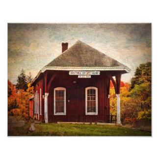 Photo Print-Middletown NJ Railway Station